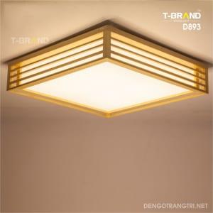 đèn gỗ ốp trần nhật