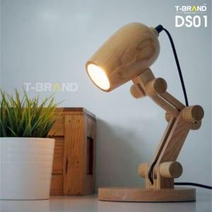 đèn gỗ để bàn
