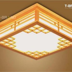 đèn gỗ nhà hàng