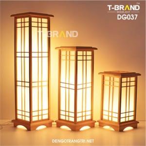đèn sàn bằng gỗ