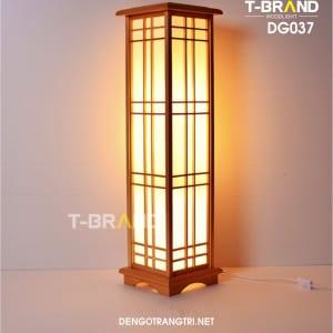 đèn gỗ đứng kiểu nhật